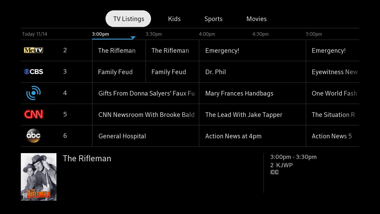 Tune to Live TV Channels on Roku Beta – XFINITY On Campus