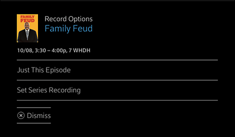 Schedule a Recording on Web or Mobile – XFINITY On Campus